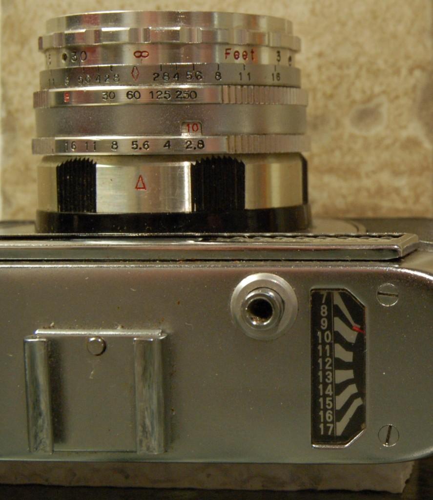 Halina Paulette Electric lens detail