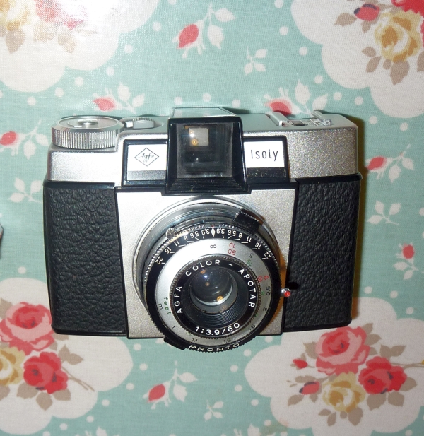 Agfa Isoly III - 120 film camera