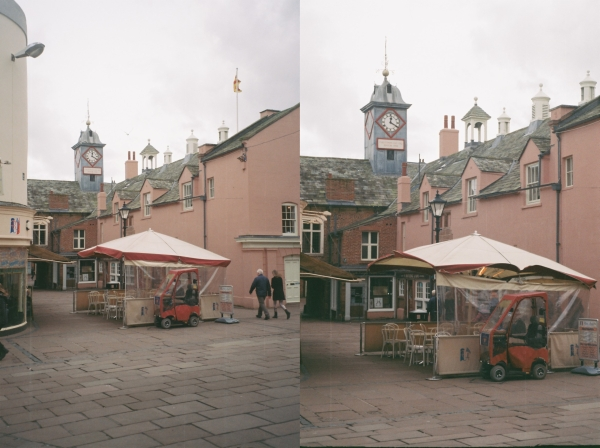 Zoom Comparison for Canon Sure Shot 60
