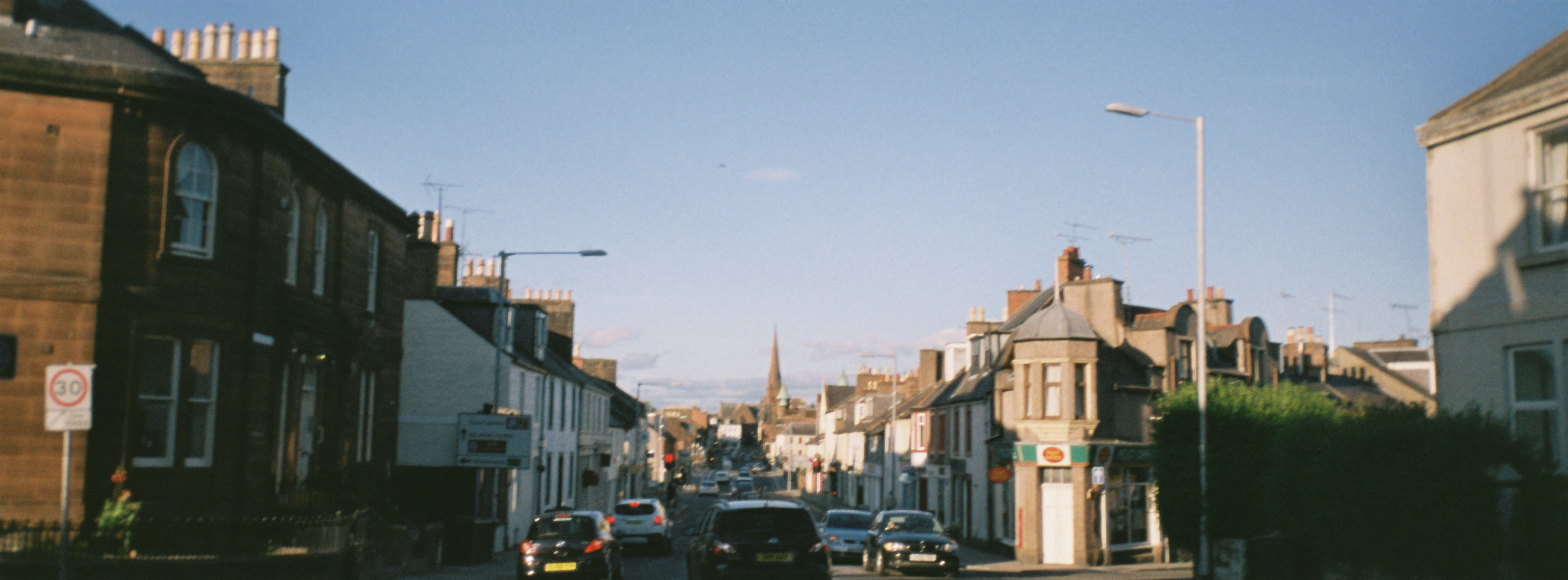 Dumfries 2015. Panorama Wide Pic Camera with Agfaphoto Vista Plus 200