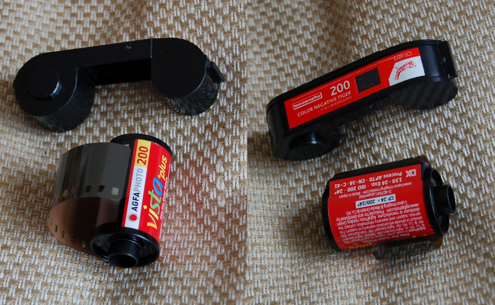 110 cartridge v 35mm cartridge