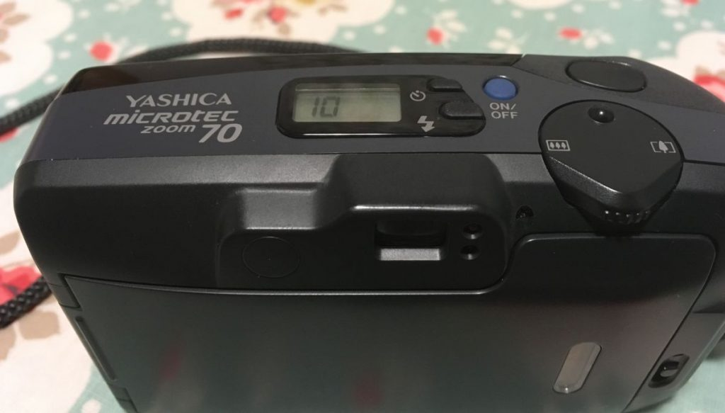 Yashica Microtec Zoom 70 Top and Rear