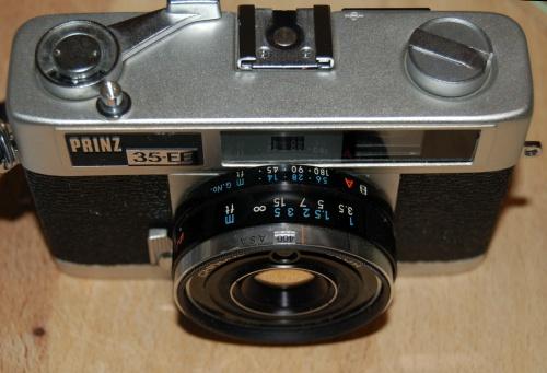 Prinz 35EE lens barrel details