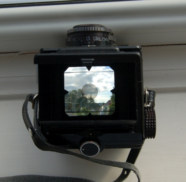 Lubitel 166U focus screen