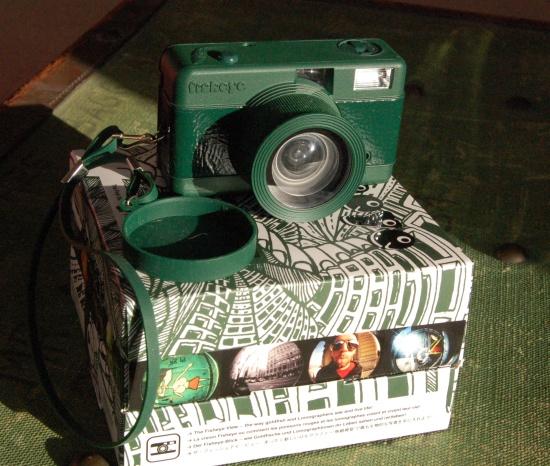 Lomography Fisheye One in Green