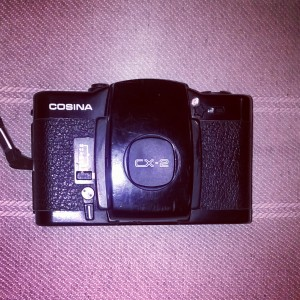 Cosina CX-2 film Camera