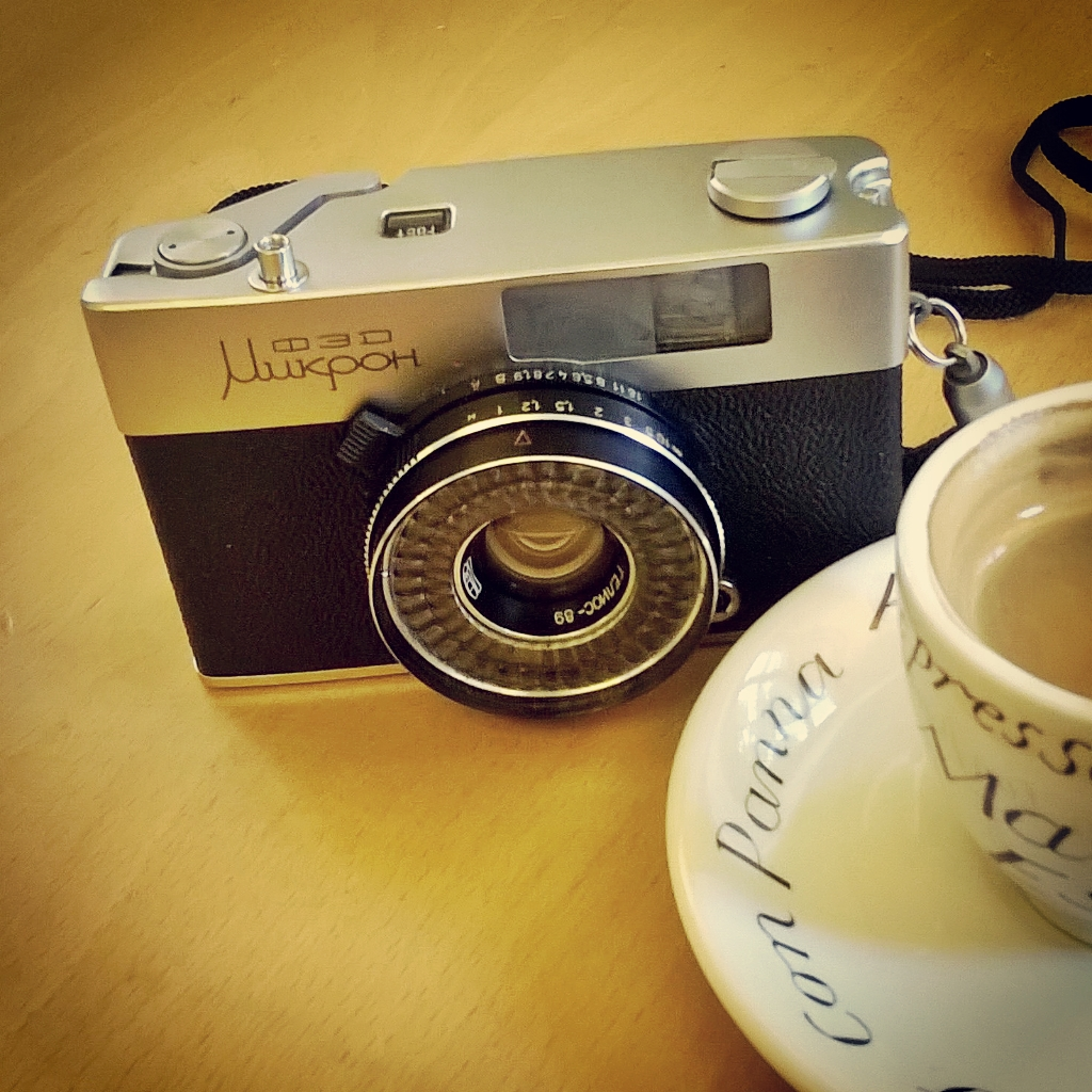 FED Mikron (ФЭД Микро) half frame 35mm soviet camera