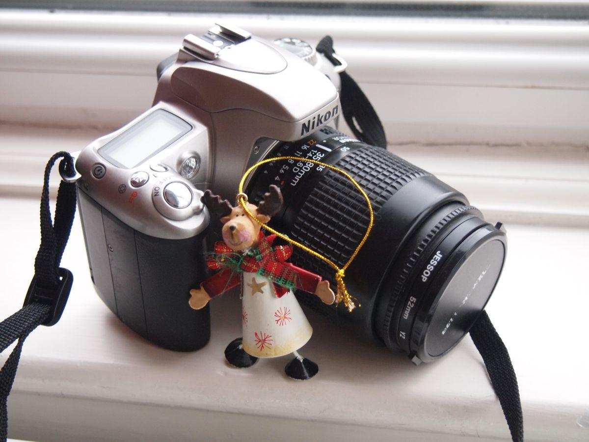 Nikon F55 with Nikon AF-D 35-80mm 1:4-5.6 lens