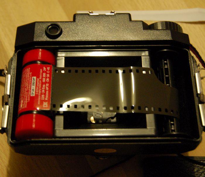 35mm loaded Holga 120