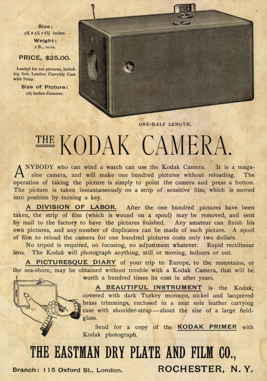 The Kodak Camera Advert - Canny Cameras