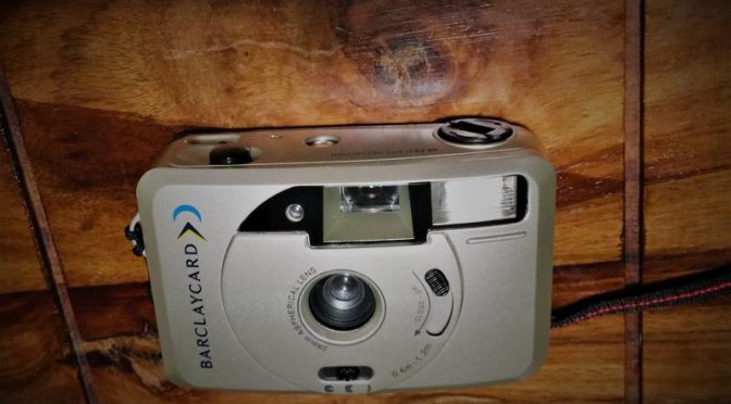 Credit Crunch ? – Barclaycard Camera Review