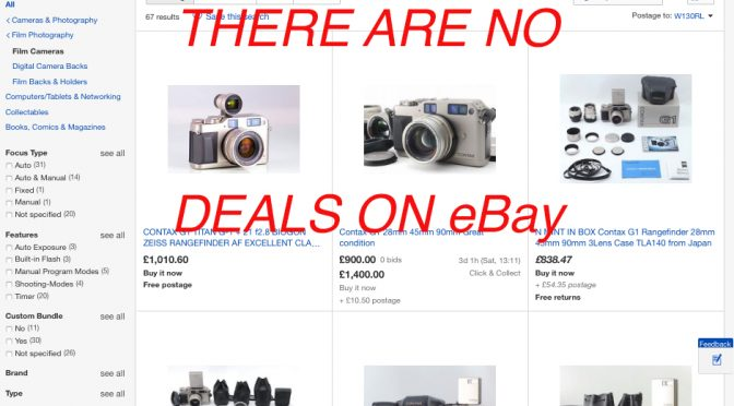 There are no deals on eBay: Finding film cameras at the right price