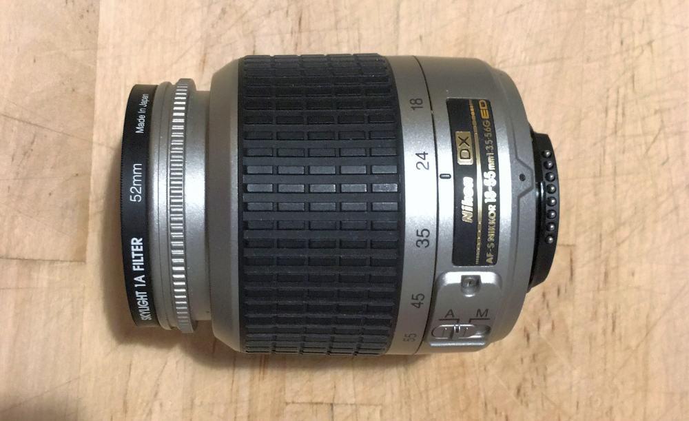 Nikkor DX AF-S 18-55mm 3.5-5.6G ED
