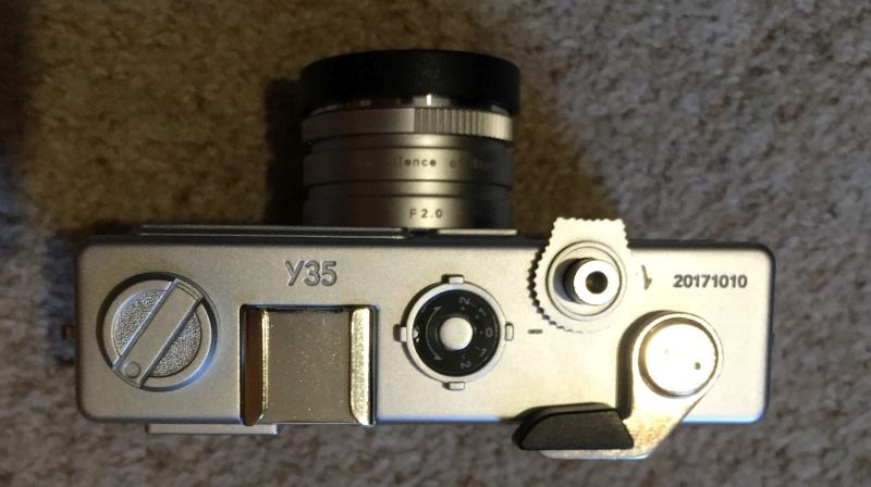 Yashica Y35 from Top