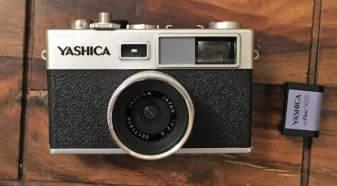 Yashica Y35 with 1600 ISO DigiFilm module