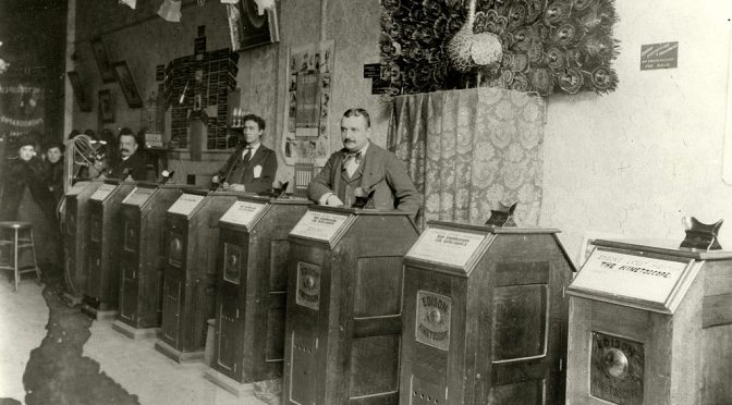 A Brief History Of Photography By Objects – 7 – The Edison Kinetoscope 1893