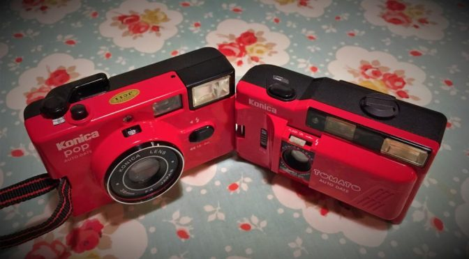 Popping the Tomato – A tale of 2 Konica Cameras