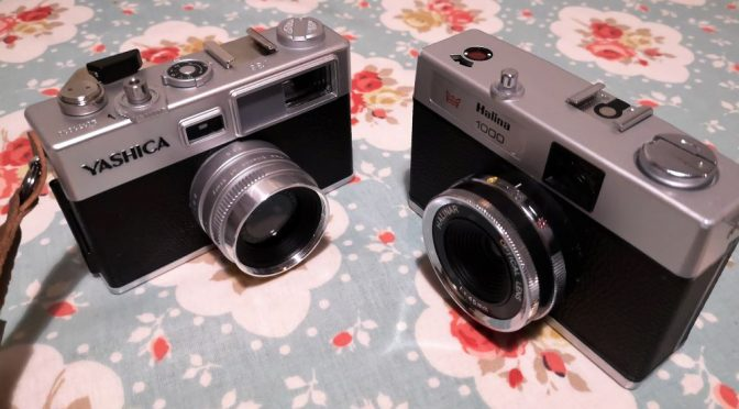 Lo-Fi Stand Off – The Halina 1000 v The Yashica Y35