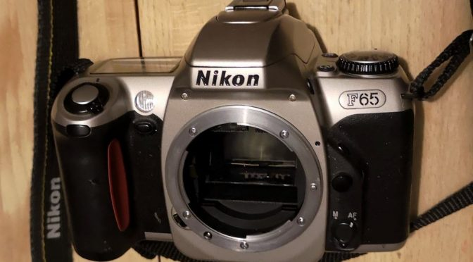 OPPS I DID IT AGAIN ! – Poundland Challenge 2019 – The Nikon F65/N65 Review