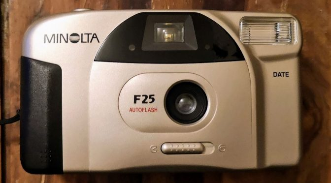 You Get What You Pay for – Minolta F25 review