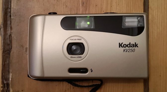 A VUWS with Flash ? – The Curious Tale of the Kodak KV250