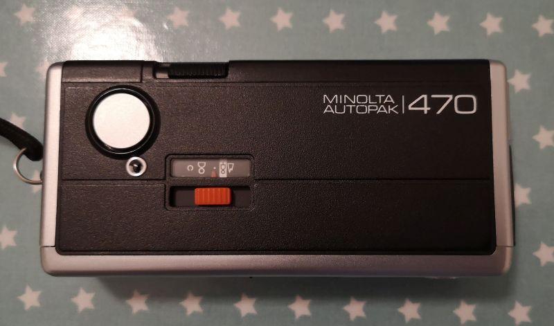Top of Minolta Pocket Autopak 470