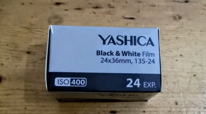 Pulling A Fast one – Or How Not to Review The  New Yashica B&W Film