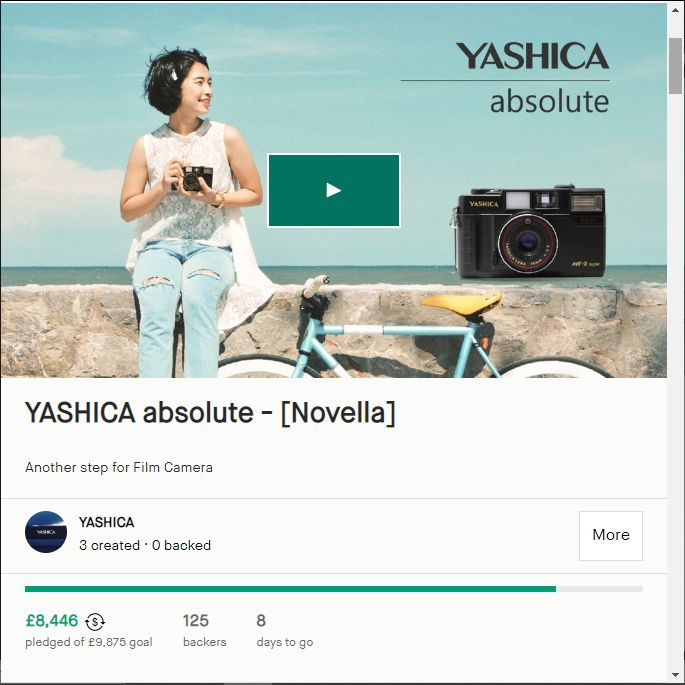 Yashica Absolute Page