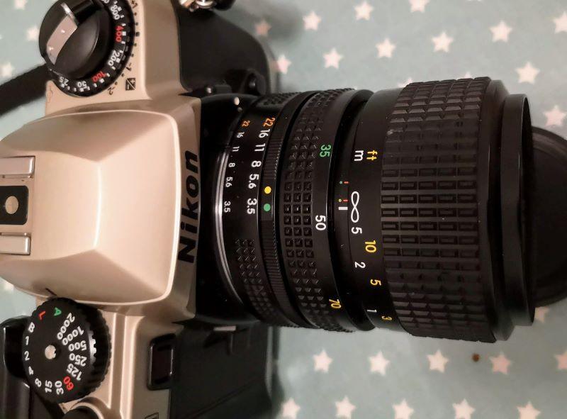 Nikon FE10 with 35-70mm 1:3.5-4.8 kit lens