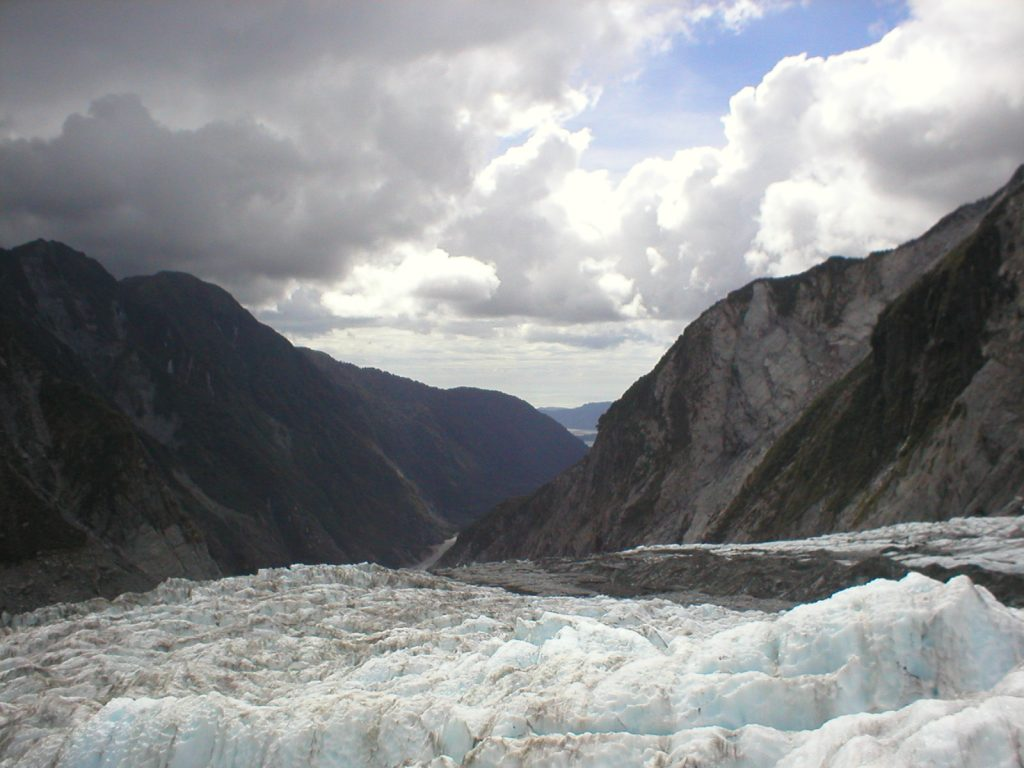 Franz Josef Glacier, NZ, 2002.