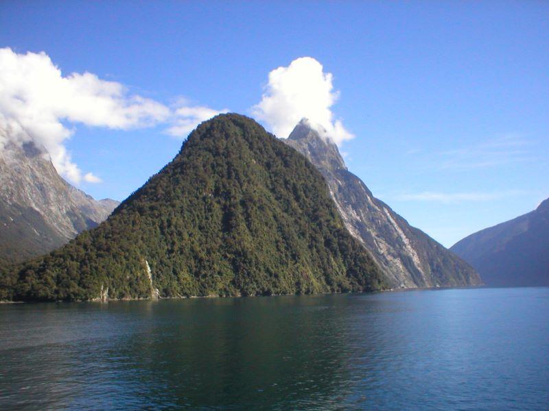 Milford Sound, NZ. 2002. Olympus C-120
