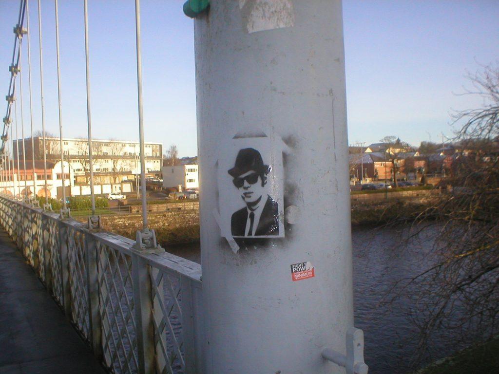 Jake on the Bridge