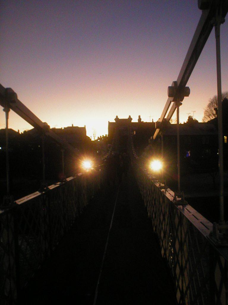 Suspension Bridge at Dusk 2019