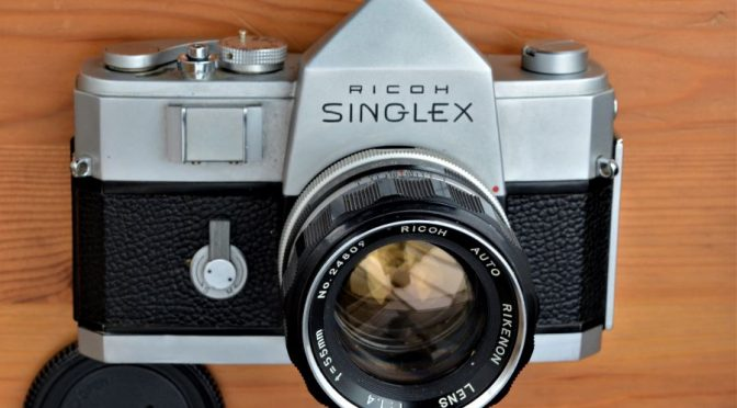 The Ricoh that's a Nikon made by Mamiya  – Welcome to the Ricoh Singlex