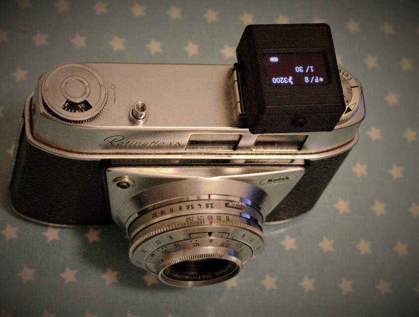 V-201X mounted on Kodak Retinette !A