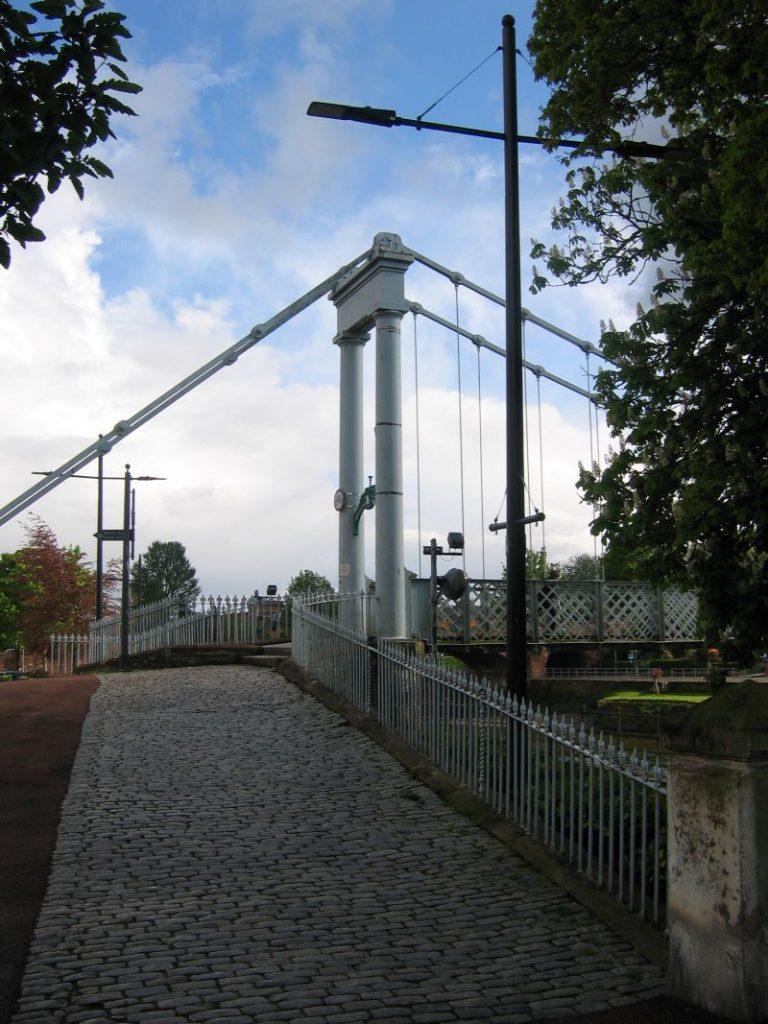 Bridge.  Canon Power Shot A80, Dumfries  2020