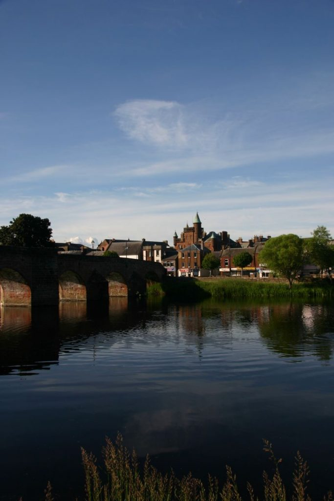 Devorgilla Bridge, Dumfries 2020. Canon EOS 300D @100ISO