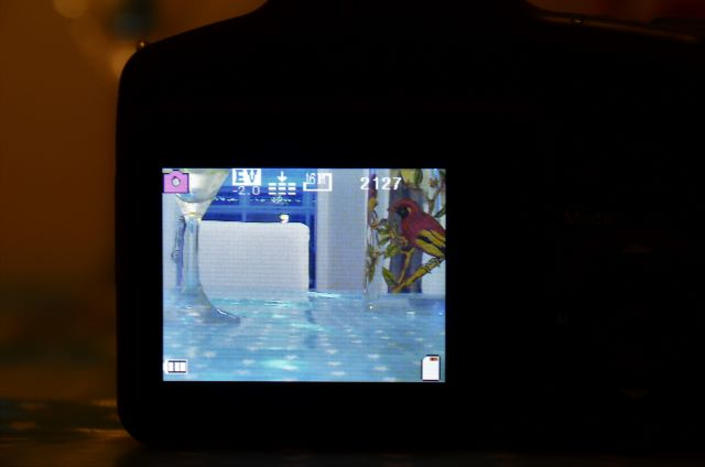 "View of 2.4"" TFT in action."