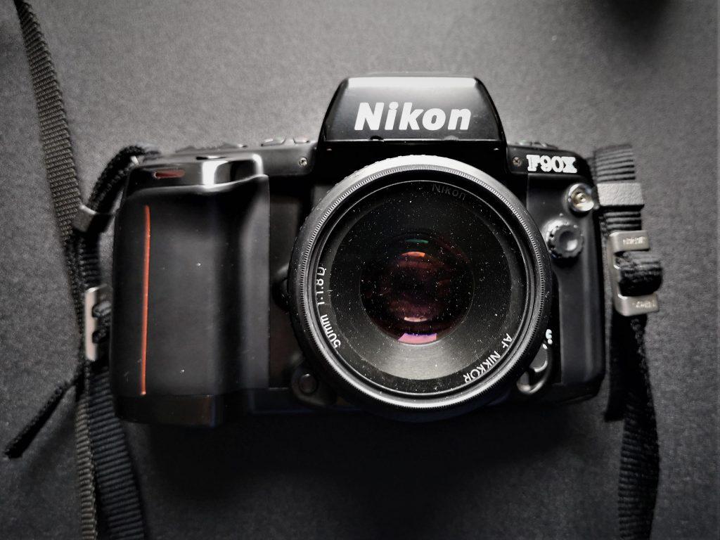 AF Nikkor 50mm 1:1.8D on a Nikon F90x