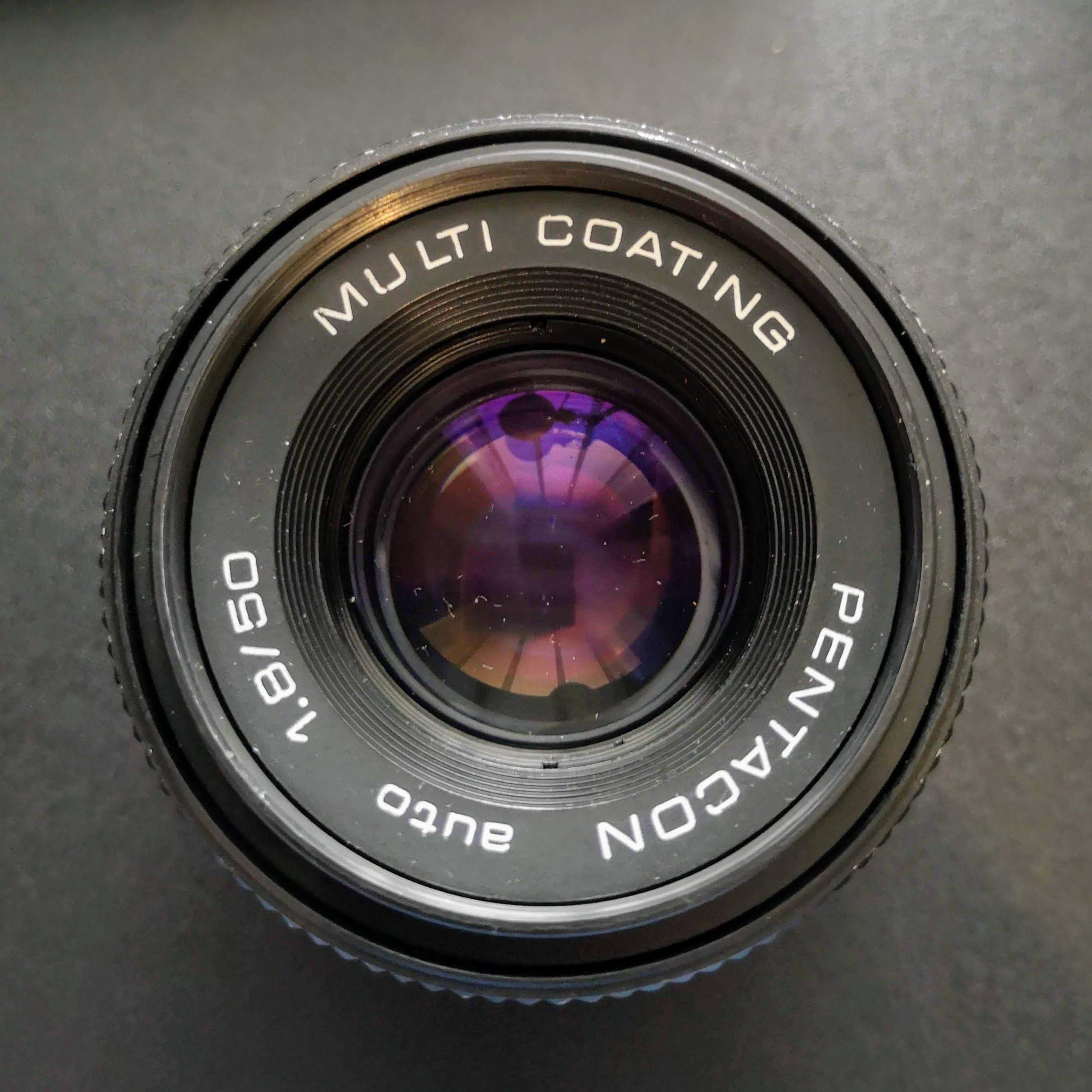 Pentacon auto 50mm 1:1.8 lens