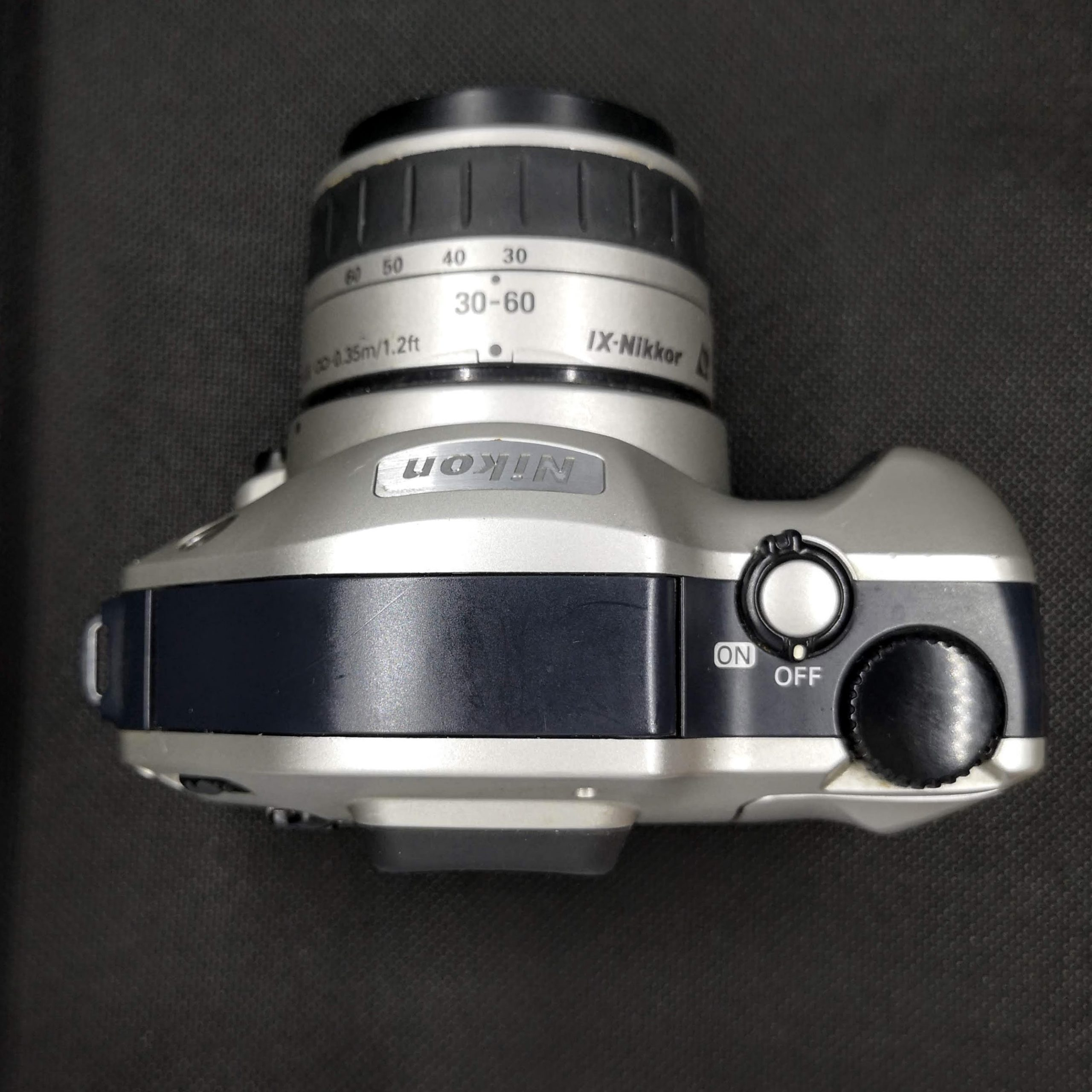 Top View of Nikon Pronea S with IX-Nikkor 30-60mm