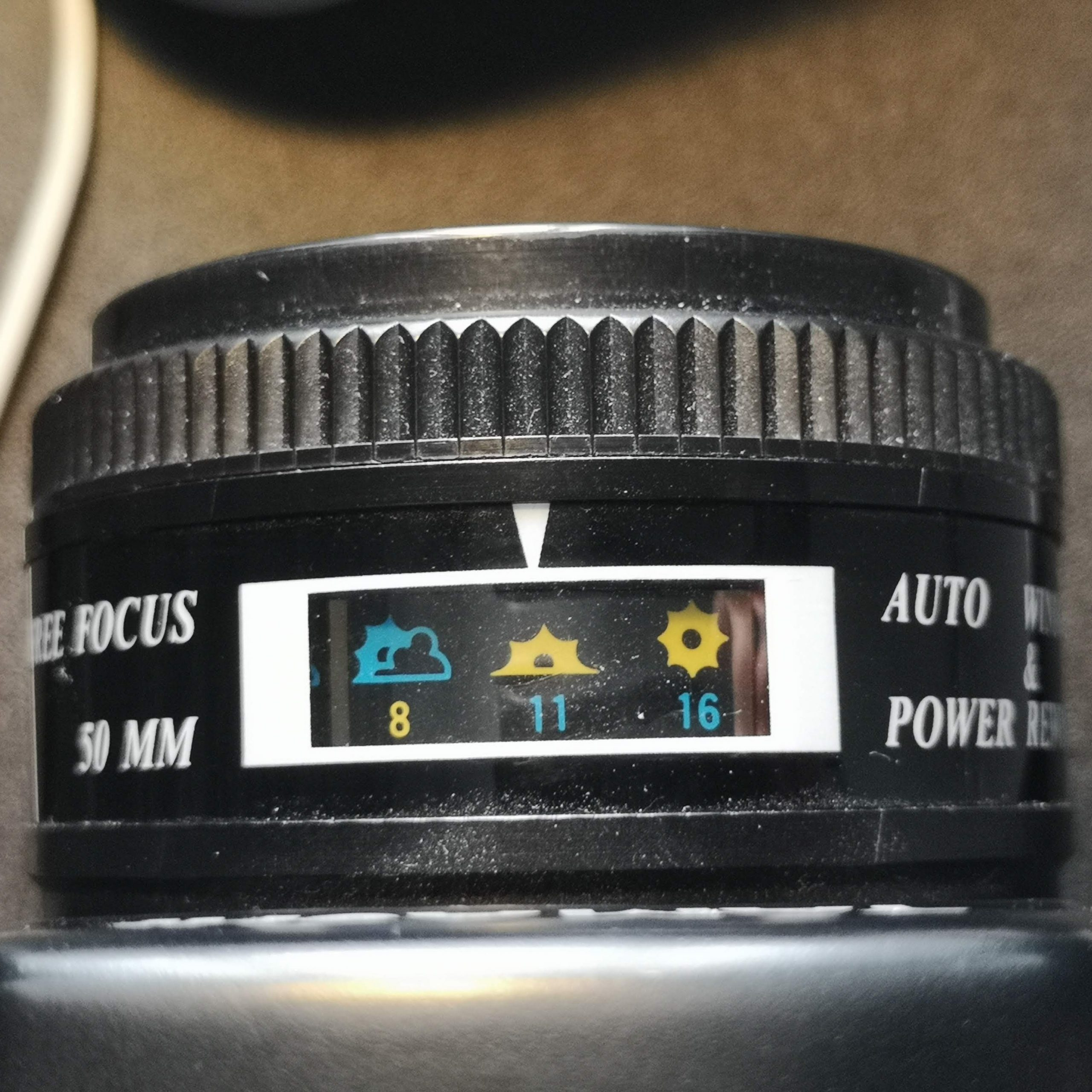 Aperture display on QP8000
