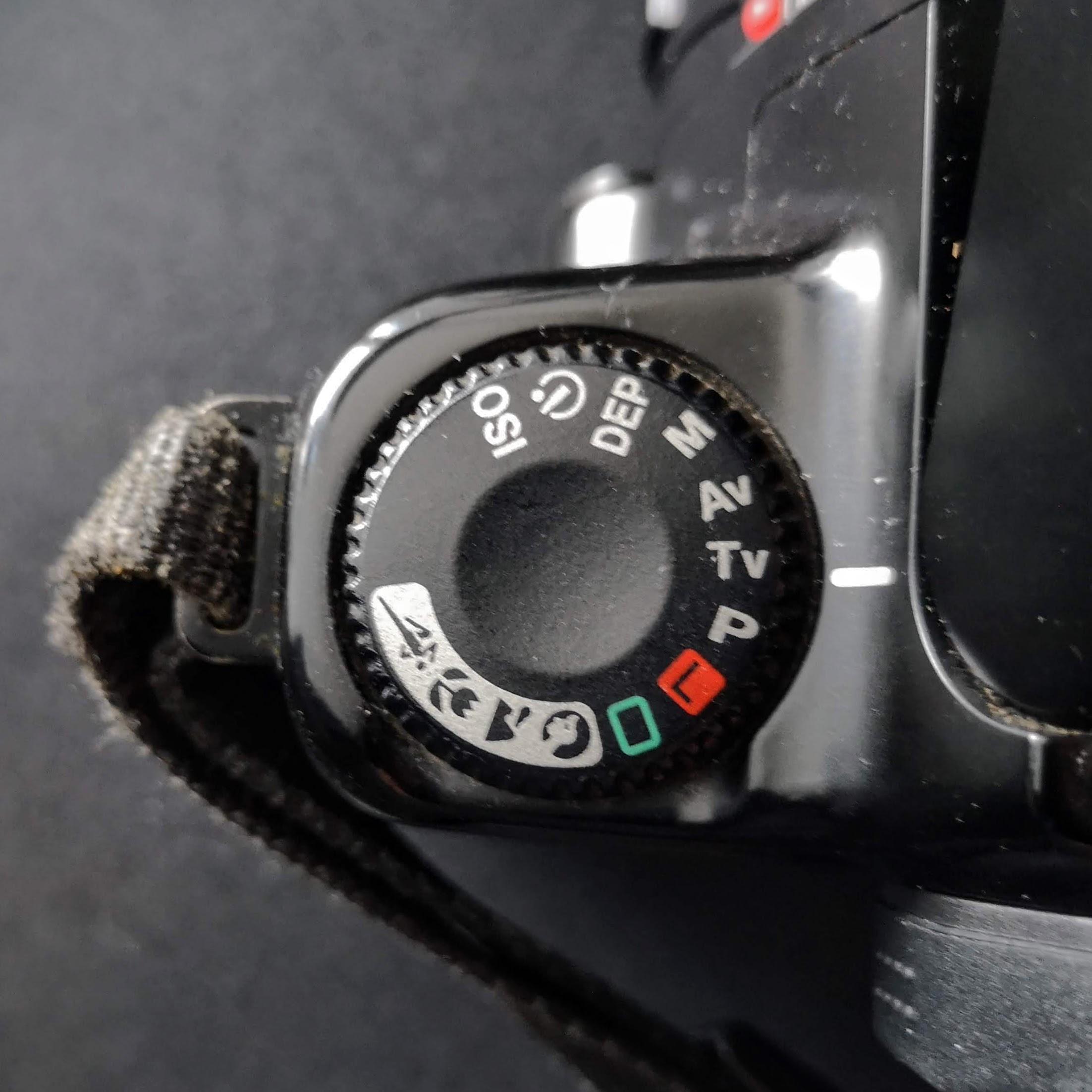 Mode Dial Canon EOS 1000F