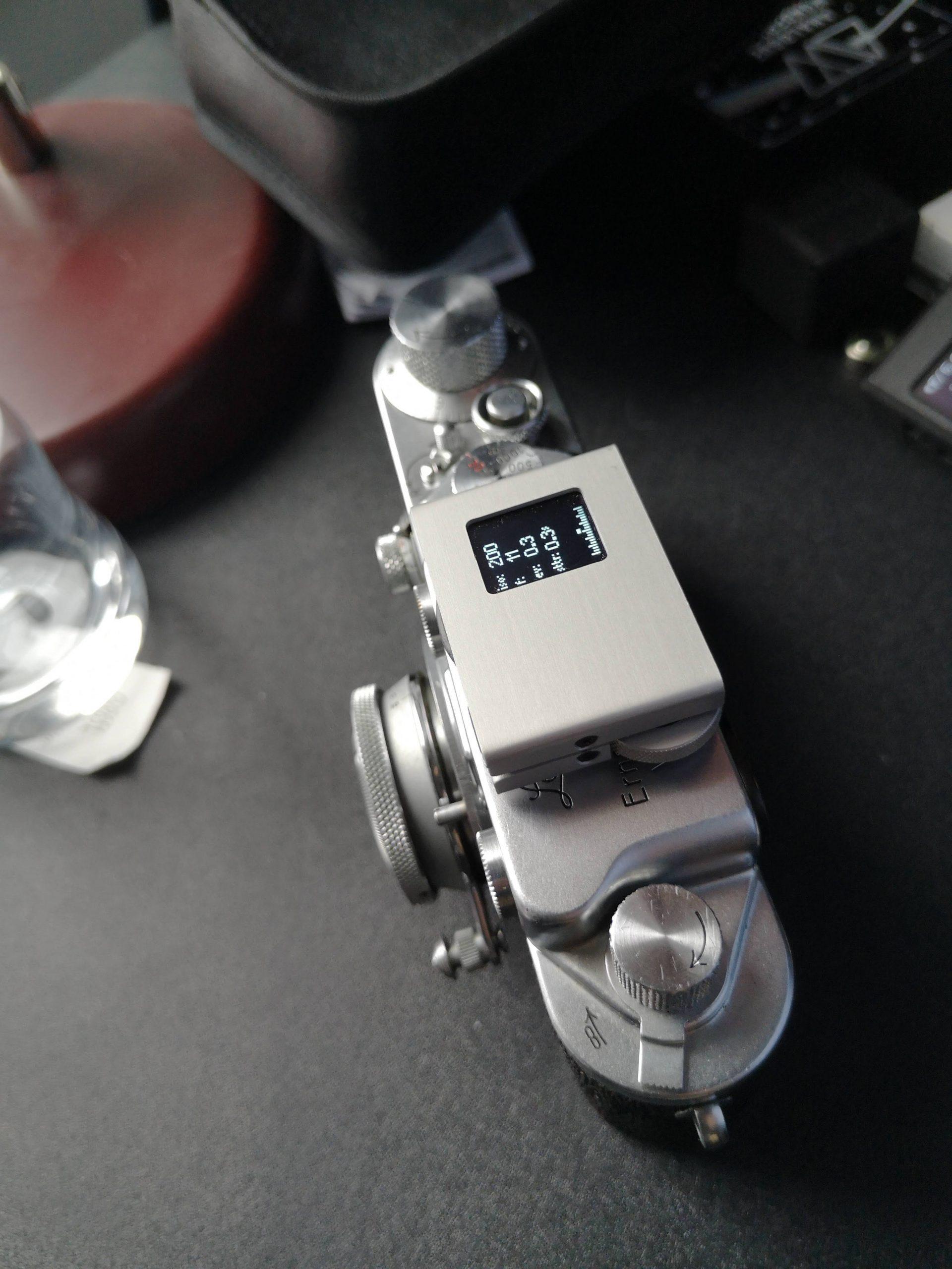 Hedeco Lime One on  Leica IIIc
