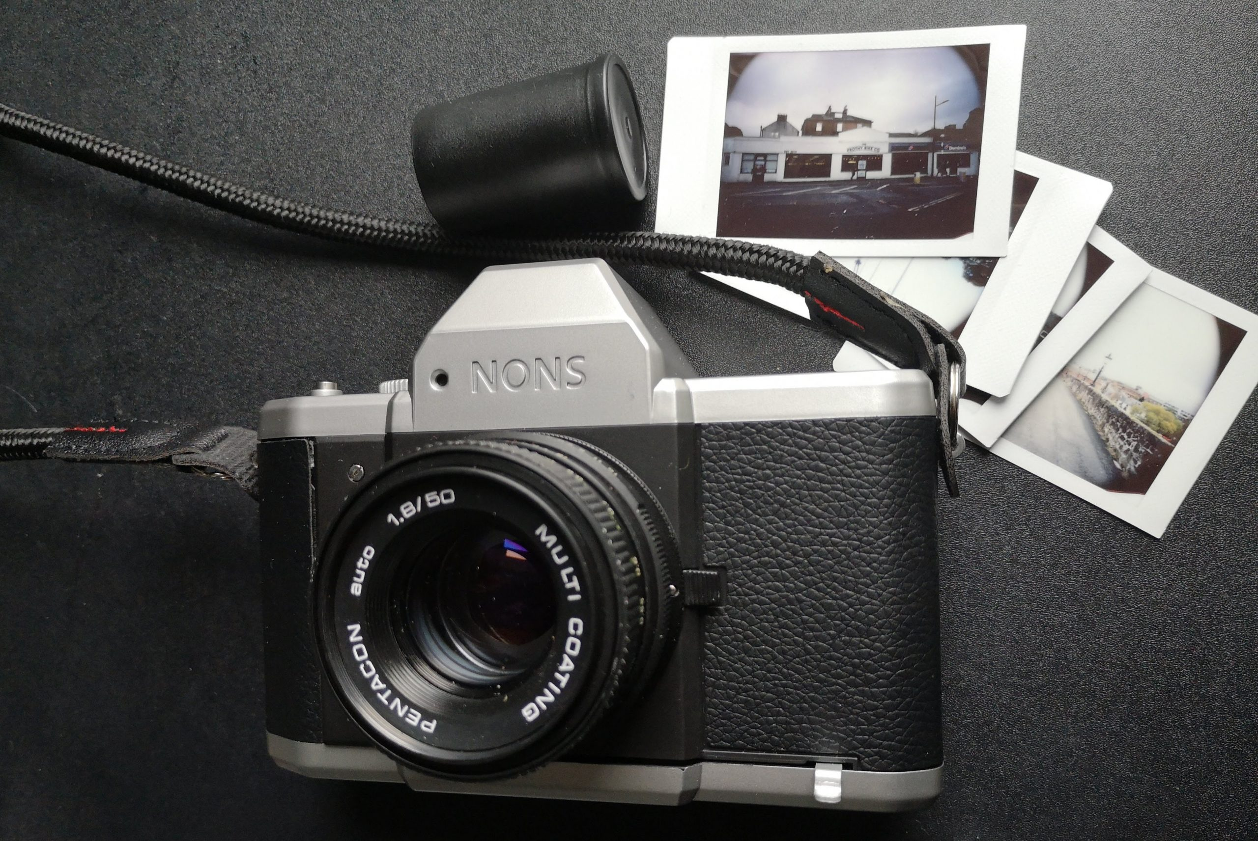 Nons SL42 with a Pentacon 50mm 1:1.8
