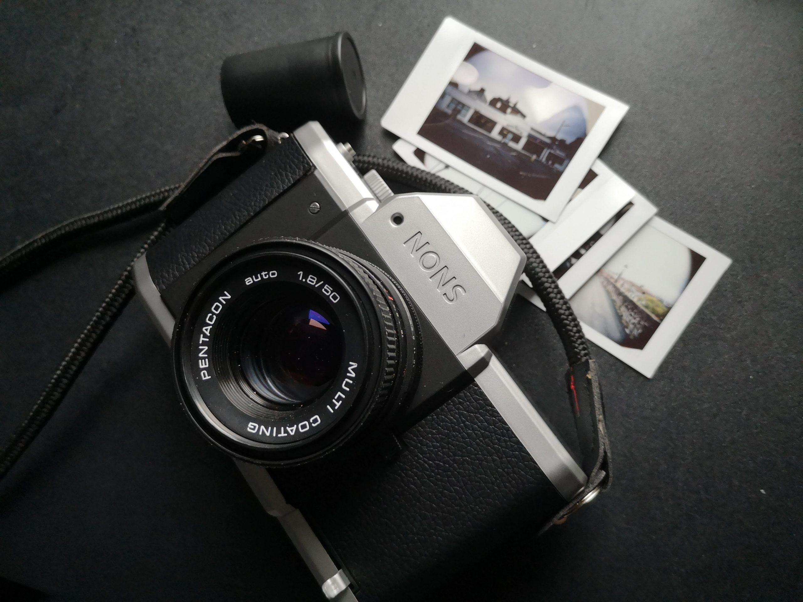 Nons SL42 with Pentacon Lens