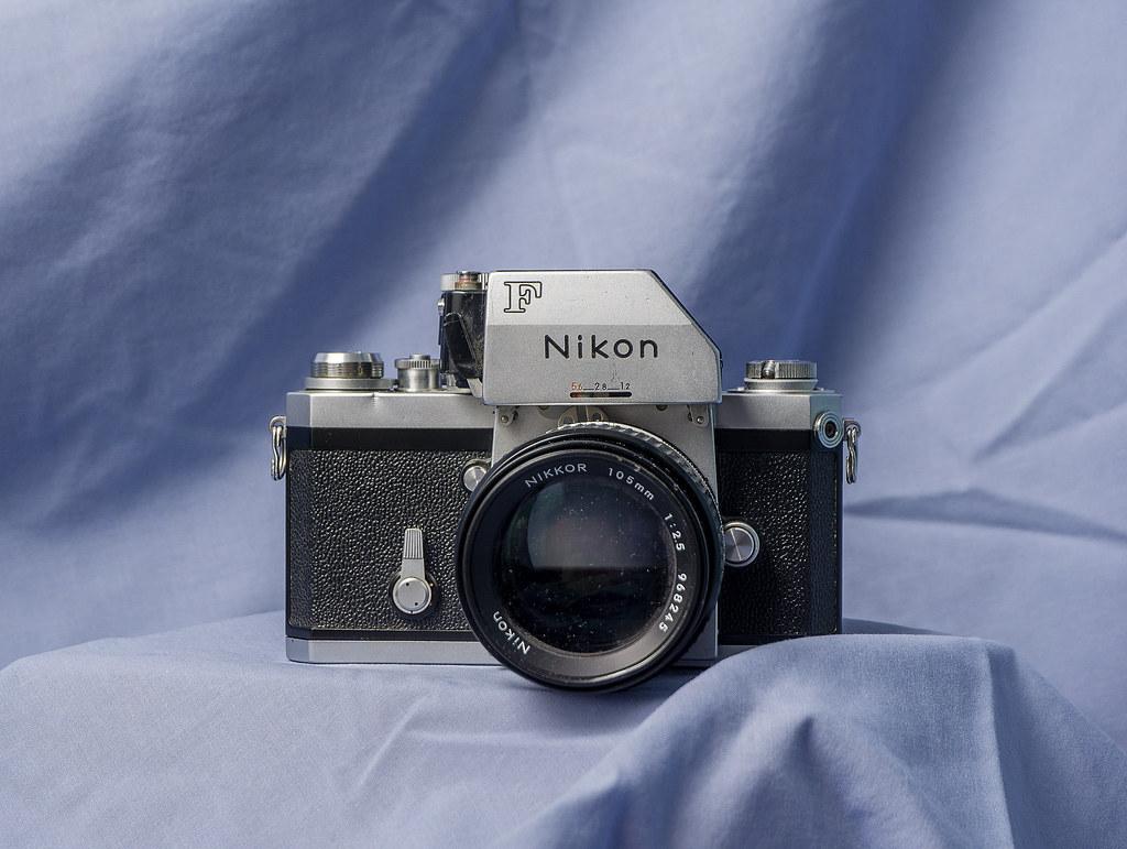 Legendary Nikon F with Photomic FTn hood