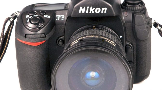 The Last Film SLR the Nikon F6 Is Gone. Long Live the Film SLR
