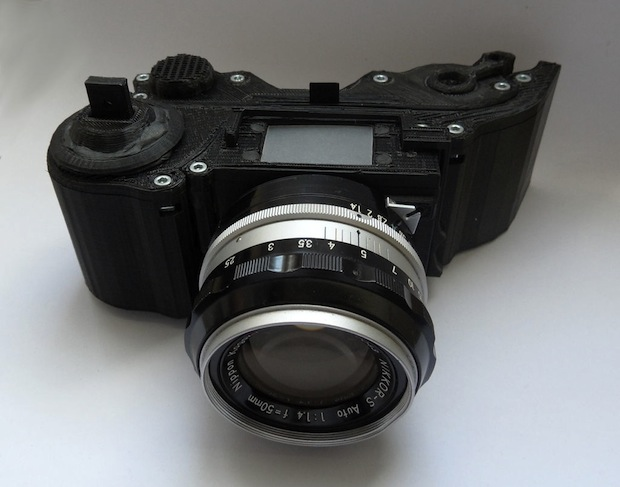 Openreflex with a Nikkor lens