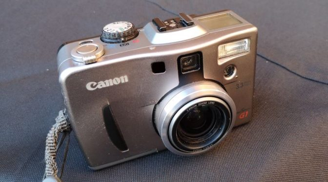 The Warning Note -Canon PowerShot G1 Review